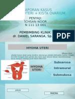 Myoma Uteri + kista ovarium