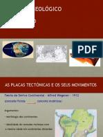 Mobilismo geológico e Vulcanismo