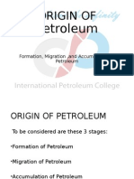 2 Formation,Migration of Crude Oil