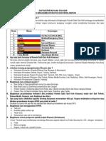 1. Daftar Pertanyaan Telusur MFK