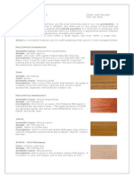 Philippine Properties of Wood
