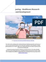 Cloud Computing - Healthcare Research and Development - Jeff Nevil