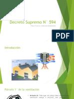 Decreto Supremo N° 594.pptx