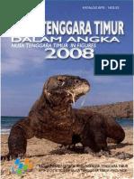 Nusa Tenggara Timur Dalam Angka 2008
