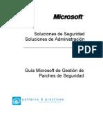 Gestion de Parches de Seguridad Microsoft