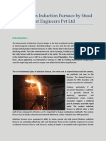 A Review on Induction Furnace by Stead Fast Engineers Pvt Ltd