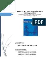 Proyecto de Creatividad e Innovación
