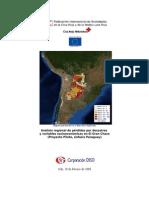 Análisis Regional de Perdidas Por Desastres