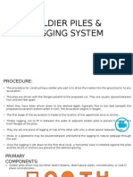 Soldier Piles and Lagging Systems