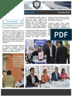 Boletín Cornerstone Investment Group - Noviembre 2015