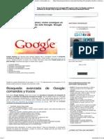 Google Hacking (46 Ejemplos)_ Cómo Consigue Un Hacker Contraseñas Usando Sólo Google. Google Puede Ser Tu Peor Enemigo