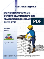 Guide Construction Petits Batiments Maconnerie Chainee