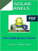 DIY Solar Panels - Patrick Minns MBA