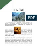 Biomas de Desiertos