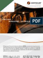 Cables para instalaciones eléctricas en minas
