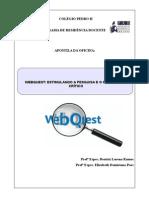 Apostila Webquest - Versão Final