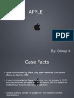 Strategic Management - Apple Inc. - Group 9[Autosaved]