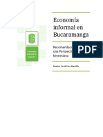 Economía Informal en Bucaramanga Recomendaciones Desde Una Perspectiva Keynesiana