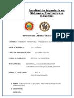 Elaboración de un programa mediante la utilización del Software STEP7