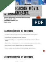 Presentacion3 - Inalambrica - Propagacion