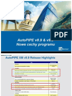 AutoPIPE v89 v90 Newfeatures