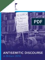 Antisemitic Discourse Report 2014