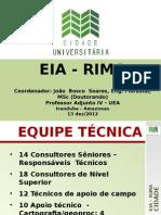 Apresentação Eia-rima - Eia 12.12.2012 - Elci