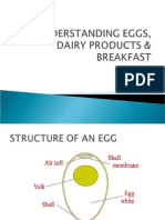5.0 Understanding Eggs, Dairy Products Breakfast