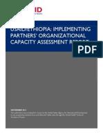 USAID Ethiopia Implementing Partners OCA