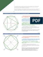 La Construcción de Polígonos Inscritos en Una Circunferencia Dada
