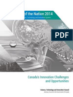 Science, Technology and Innovation Council -- 2014 report