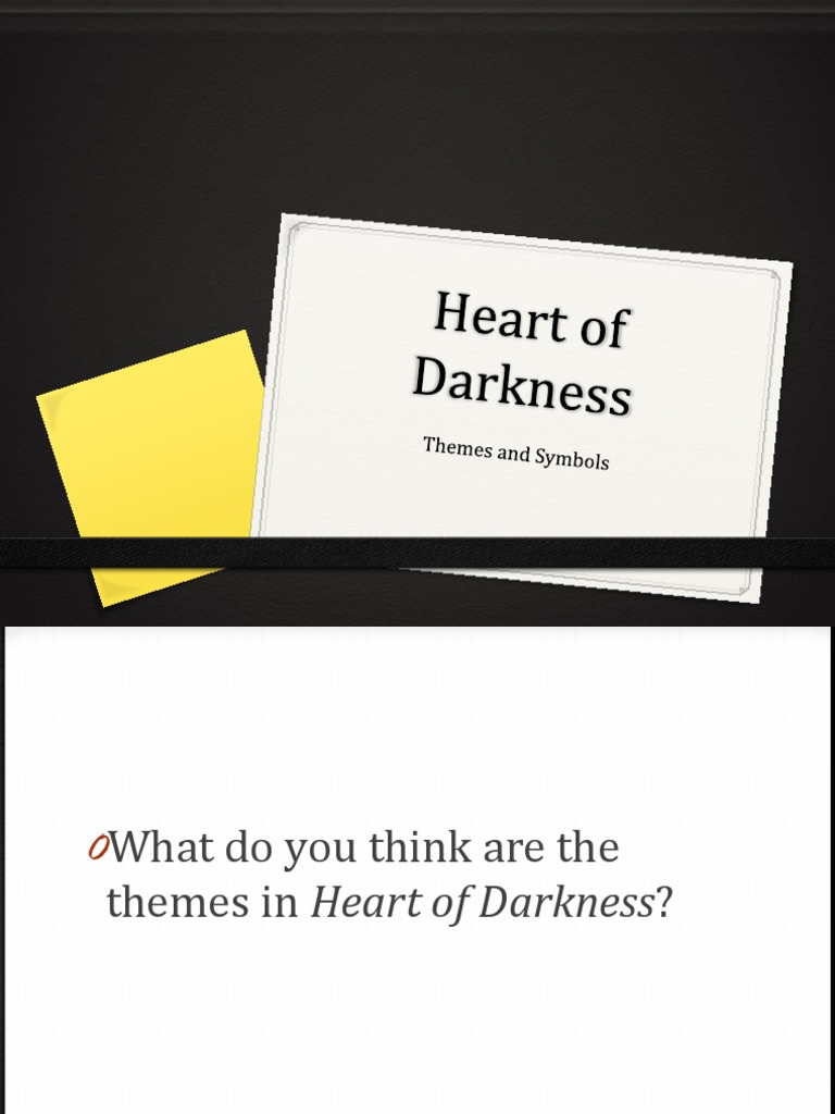 Heart of darkness theme and symbols heart of darkness science buycottarizona Images