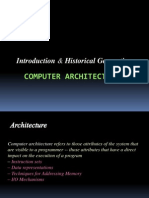 Introduction to advanced computer Architecture