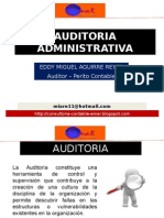 Auditoria Administrativa y Hallazgos Emar - Subir