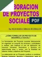 Diseños de Proyectos Sociales Moficado
