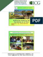 Auditoria Viales en Las Carreteras en El Peru