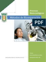 Métodos de Bioseparación