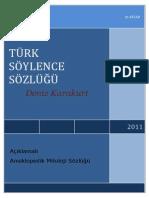 Turk Mitoloji Söylence Sözluğu