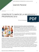 Construye Tu Mapa de La Abundancia y Prosperidad 2013 _ Su- Evolución Desarrollo Personal