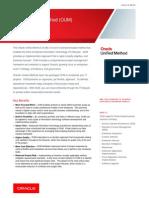 Oracle Unified Method Brif