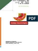 Difusión Del Código Deontológico Del CIP
