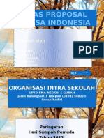 Tugas Proposal Bahasa Indonesia Ppt