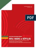 Boletim Epidemiológico de HIV/Aids e Sífilis do Rio Grande do Sul 2015