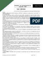 Connaissance Du Marché Sim ISM 2012 Sen Eau