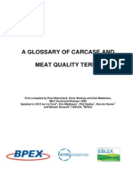 Glossary Carcase and Meat Quality Terms031012