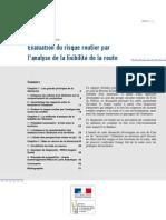 Perte Tracé0937w Rapport EvaluationRisqueRoutier