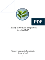 Tannery Industry in Bangladesh