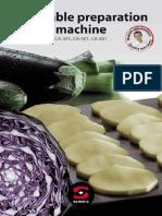 Brochure Vegetable Prep Machine CA