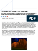 ((3D Terrain))3D Graphic Java_ Render Fractal Landscapes _ JavaWorld