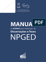 Manual Normas Npged